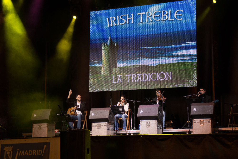 Irish Treble en Barajas